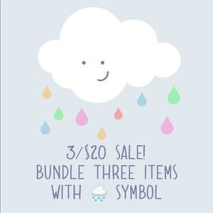 Other - 3/20 sale bundle items with 🌧